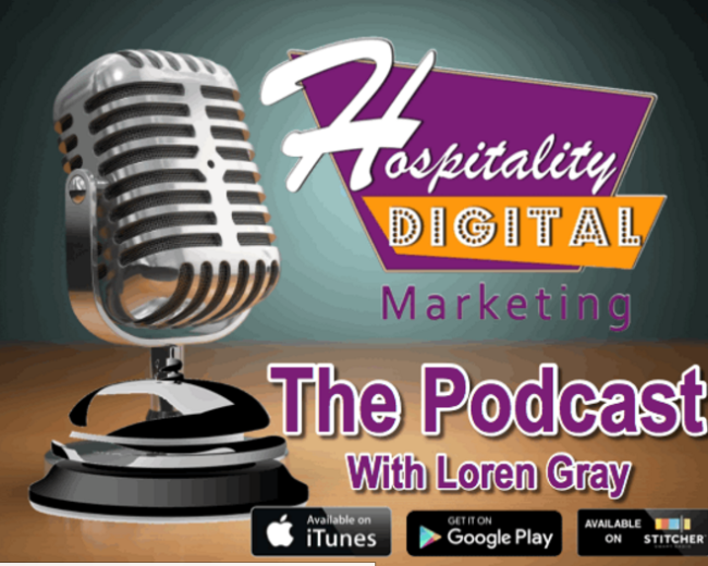 Talking about story telling for hotels on the HSMAI Digital Marketing Podcast