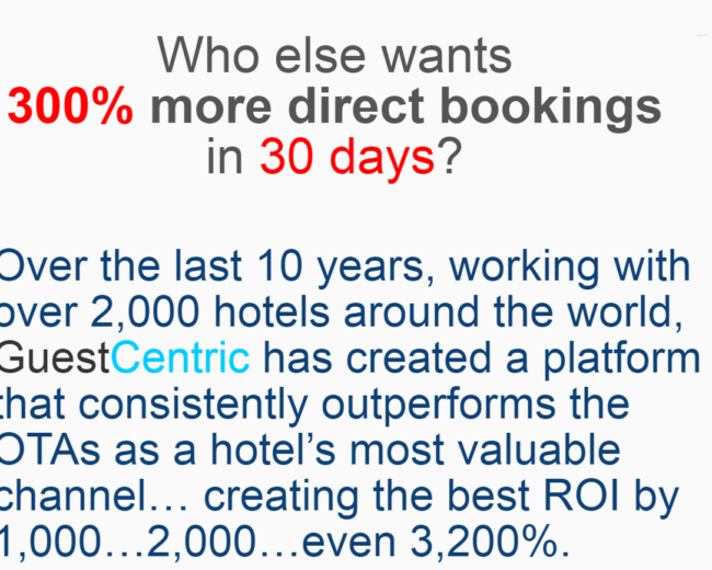 More Direct Booking.com